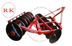 RK Mild Steel 14 Disc Harrow Plough, For Agriculture, 30-60 Hp