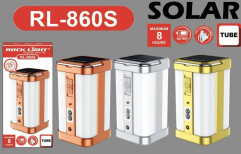 Rocklight Plastic Rechargeable Solar Lantern, Battery Type: Alkaline, Capacity: Up to 4999 mAh