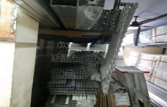 Smooth Aluminium 15mm two track sliding window
