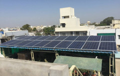 Solar System Mounting Structure Solar Home Systems, For Residential, Capacity: 10 Kw
