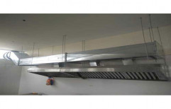 Stainless Steel Hotel Kitchen Ducting Chimney