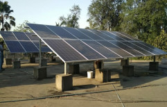 Steel C Channel Solar Panel Mounting Structure
