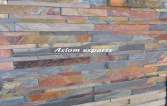 Natural Stone Wall Cladding, For Interior & Exterior, Packaging Type: Box Packing