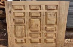 Teak Wood Door, Size: 3ft