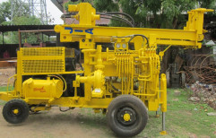 Tubewell Boring Machine Mild Steel Portable Water Well Drilling Rig, Size: 150 Meter, Model Name/Number: JWC-10