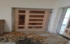 Wooden ply door