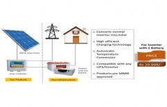 1 Battery Solar Inverter System
