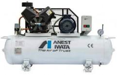10 HP Reciprocating Compressor Air Compressors, Air Tank Capacity: 2.500 Ltr, Model Name/Number: Anestiwata Type 30