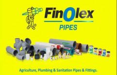 "4"" Finolex 6kg Pvc Pipes"