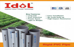 Agriculture PVC Pipes, Thickness: 2-6mm