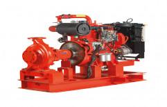 Alloy Steel Fire Fighting Water Pump