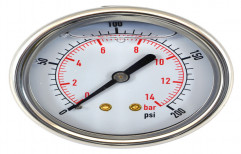 Analog Steel Pressure Gauge, for Industrial