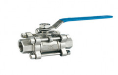 BLUE AND SILVER WCB And SS . CI Ball Valve, Size: 15MM TO 200MM