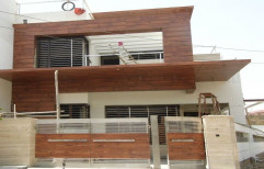 Brown Wooden Laminated Wall Cladding