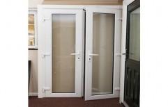 Casement Standard White UPVC Door, 5, Exterior