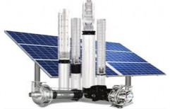 Electric Three Phase Solar Water Pump, 2 - 5 HP