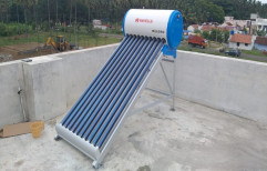 Evacuated Tube Collector (ETC) Stainless Steel Domestic Solar Water Heater, For Home, 1000 lpd