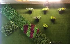 Grass Vertical Garden for Elastic Wall