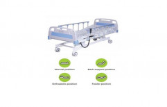 Hospital Bed On Rent( Fowler Bed Motorized Premium With Railings And Mattresses)