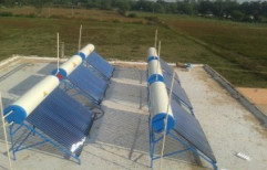 Hot Flow Evacuated Tube Collector (ETC) ETC Solar Water Heater, Capacity: 150 lpd