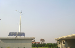 Hybrid Wind Turbines Renewable Energy System, For Industrial, Capacity: 10 Kw