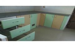 Jap Enterprises L Shape Modular Kitchen Drawer, For Home