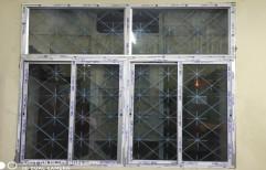 KBE Aluminium Two Track Sliding Window &Fixed