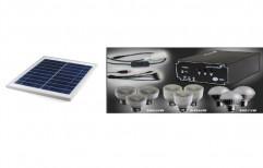 LED Solar DC Home Lighting System