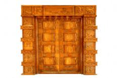 Mahalsa Interior DSC03457 Wooden Entrance Door for Home, Thickness (millimetre): 35