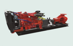 Mahindra Powerol 16 hp Fire Fighting Engine Driven Pump