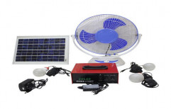 Mesar Grid Tie Solar Home Lighting System, For Commercial, Capacity: 200 W