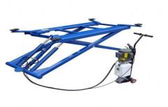 Mild Steel Car Washing Scissor Lift, Capacity: 2-3 ton