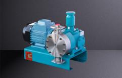 Minimax Teflon, Steel Mechanically Actuated Diaphragm Vertical Type Pumps