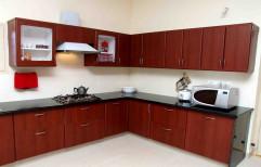 Modern Sharon Modular Kitchen Cabinets