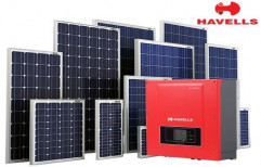 Mounting Structure Grid Tie Havells Commercial Solar Power Plant System, Capacity: 5 Kilowatt and Above