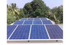 Mounting Structure Off Grid 10Kw Polycrystalline Solar Power Plant