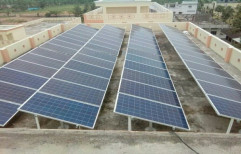 Off Grid Solar Energy Home Solar System, For Commercial, Capacity: 10 Kw