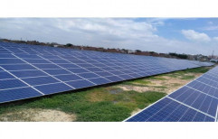 On Grid Solar Power System for Commercial, Capacity: 10 kW
