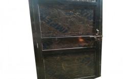 Plain Polished Decorative Wooden Door, Brown