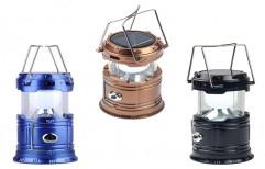 Plastic White 5800t Solar Rechargeable Lantern