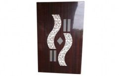 Plywood Designer Laminated Door, Thickness: 1-2 Inches