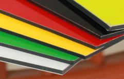 Red Viva Aluminium Composite Panel (ACP) Sheet