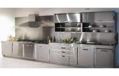 Residential Stainless Steel Modular Kitchen, Warranty: 1 - 10 Years