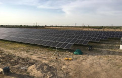 Solar Power Plant, For Commercial, Capacity: 1-100Mw