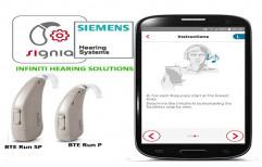 Siemens BTE Run SP Hearing Aid