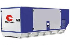 Single Phase 20kva Escorts Silent Generator, Voltage: 220 - 415 V