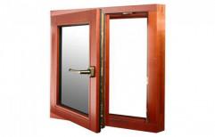 Single Wooden Window