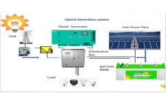 SRR_Energy Solar Hybrid Power Systems, For Industrial