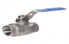 Stainless Steel High Pressure Ball Valve, For Industrial, Size: Upto 4""