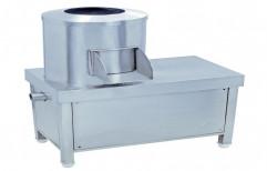 Steel Commercial Potato Peeling Machine, For Restaurant